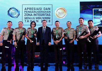 Polres Kendal Terima Penghargaan Zona Integritas WBK dari Menpan-RB