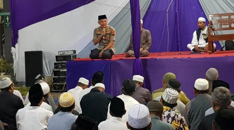 Kapolres Ajak Pererat Silaturahmi dalam Pengajian Akbar Takmir Masjid se Kabupaten Kendal