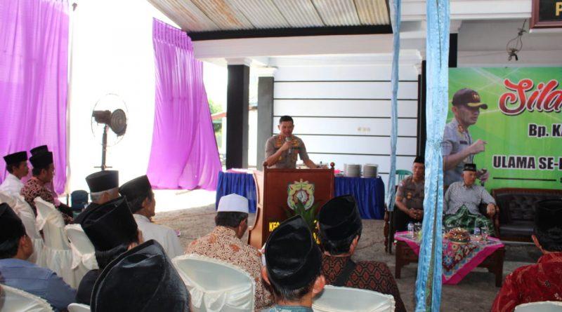 Silaturahmi dengan para Kyai di Sukorejo, Kapolres Kendal Tegaskan Perbedaan Jangan Dijadikan Alat Perpecahan