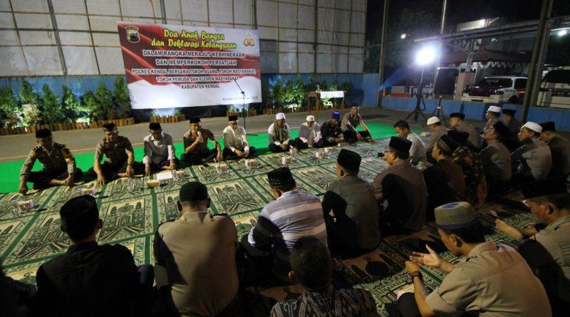 Tokoh Masyarakat Bersama Tokoh Agama Gelar Doa Bersama dan Deklarasi Kebangsaan
