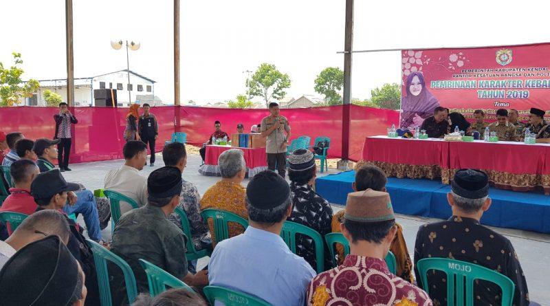 Kapolres Kendal Tegaskan Ketua RT dan RW Jangan Mudah Terprovokasi Kabar Hoax