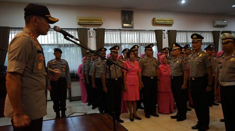 79 Personel Polres Kendal Dapatkan Kenaikan Pangkat