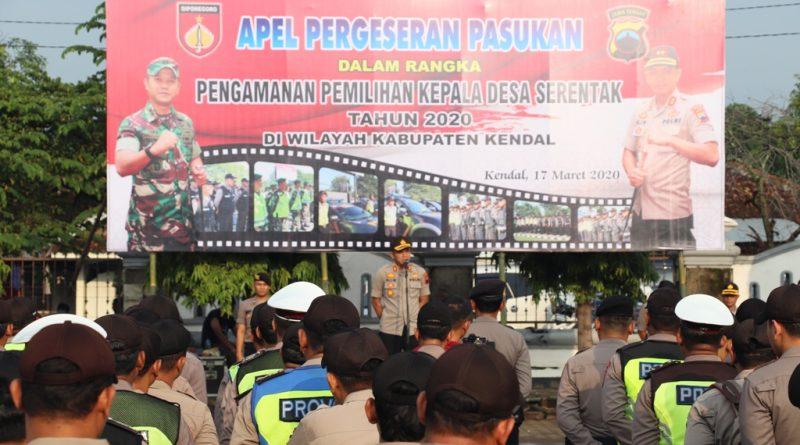 Pilkades Serentak 2020 Kabupaten Kendal, 1370 Personel Gabungan Diturunkan