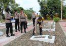 Peringati Hari Bhayangkara ke 74 Kapolres Kendal Pimpin Ziarah Rombongan di TMP Kusuma Jati