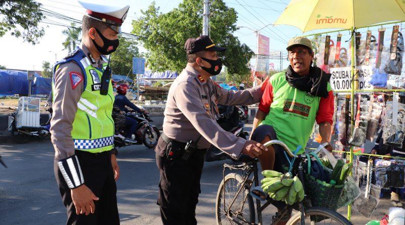 Operasi Yustisi di Kaliwungu, Masih Banyak Ditemukan Warga Tidak Memakai Masker