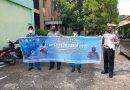 Unit Dikmas Sat Lantas Polres Kendal Bagikan Brosur Tentang Pesan – Pesan Keselamatan Berlalu lintas